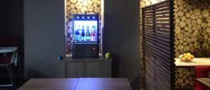Distributeur de vin au verre Advineo Shop Hôtel Ibis Chaumont