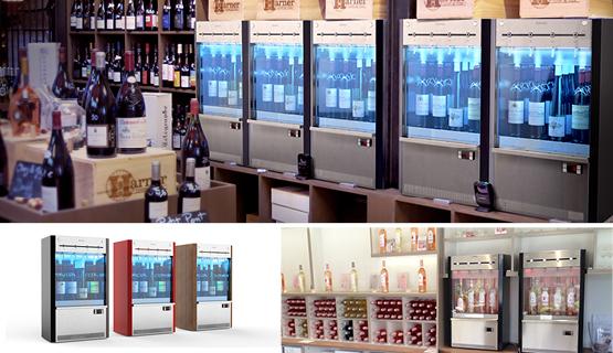Equipements pour la dégustation viticulteur