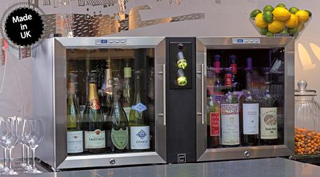 POD BAR Conservation temperature vins et champagne