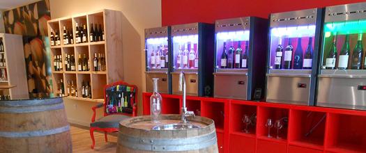 un distributeur automatique de vin comment a marche. Black Bedroom Furniture Sets. Home Design Ideas