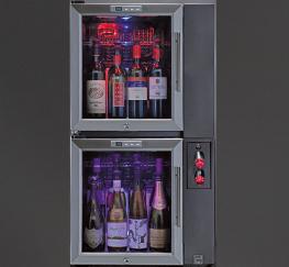 POD-BAR double vertical pour le vin au verre