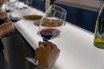 faire deguster un vin