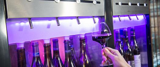 distributeur de vin sous azote fonctionnement