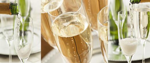 Distributeur champagne servir vins effervescents