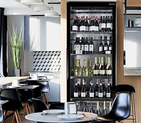 VineoCave vitrine à vins et champagne